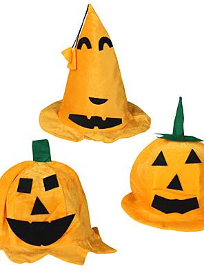 Klobouky / Halloween Props Zlatá / Oranžová Bavlna Cosplay doplňky Halloween / Vánoce / Karneval