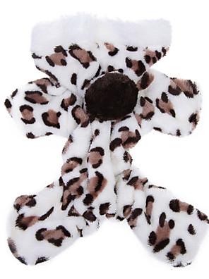 Cães Camisola com Capuz / Pijamas Marrom / Rosa Roupas para Cães Inverno / Primavera/Outono Leopardo Fofo / Fantasias