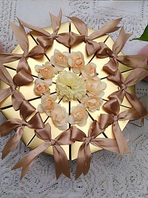 impozáns arany sütemény javára doboz (10 db)