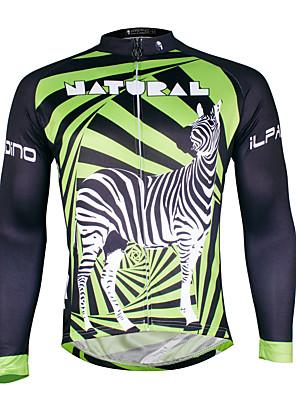 PALADIN® Camisa para Ciclismo Homens Manga Comprida MotoRespirável / Secagem Rápida / Resistente Raios Ultravioleta / Compressão /