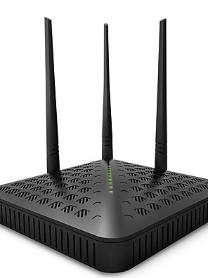 tenda wifi router fh1202 engelsk firmware 2.4 + 5 GHz 1200mbs 11ac dual band trådløs repeater (os plug)