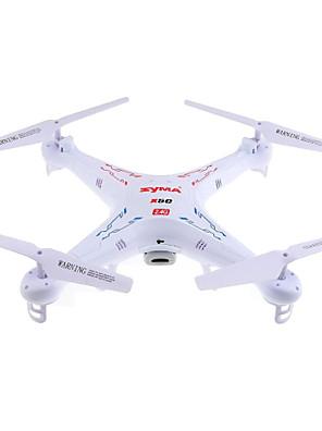 Drone SYMA X5C 4-kanaals 6 AS 2.4G Met 2.0MP HD-camera RC quadcopter LED-verlichting / 360 Graden Fip Tijdens Vlucht / Zweven / Met camera