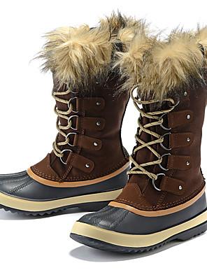 מגפיים עד אמצע השוק-לנשים-ספורט שלג(קפה / שחור)