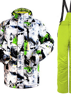 Trilha Blusas / Calças / Conjuntos de Roupas/Ternos Mulheres / HomensImpermeável / Térmico/Quente / A Prova de Vento / Isolado /