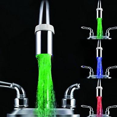 Led Faucet : Chrome LED Faucet Light 1039-M4106 162569 2017 -$8.99