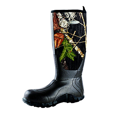 Camouflage waterproof ice fishing shoe cold weather boot for Commercial fishing boots