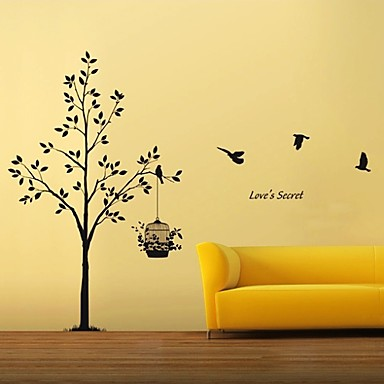 Animals / Botanical / Still Life Wall Stickers Plane Wall Stickers Decorative Wall Stickers,# Material Washable / RemovableHome