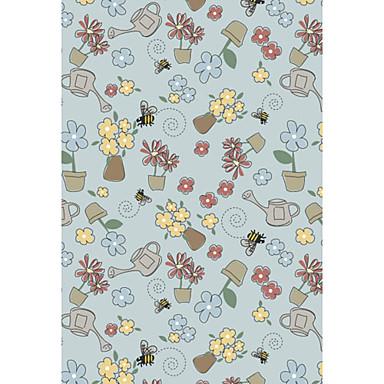 lana agganciato tappeti con pattern di fioritura del ...