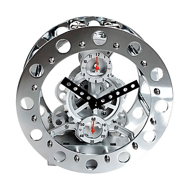 modern mechanical gear tabletop clock 8 425134 2016