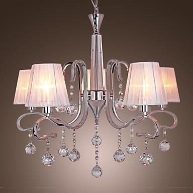 lightinthebox lampadari : Max 40W Contemporaneo Cristallo Galvanizzato Lampadari Salotto / Sala ...