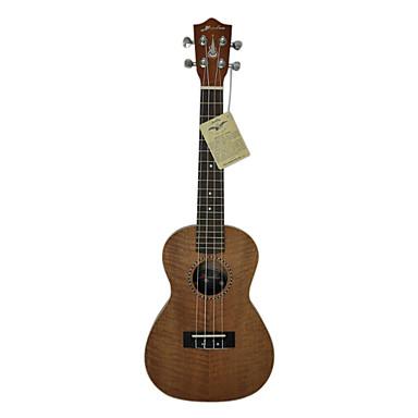 Hanknn 5230s solide ukul l concert en acajou avec for Housse ukulele concert