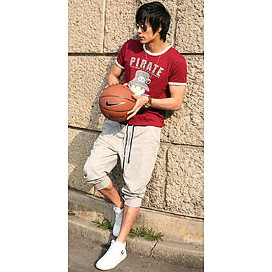 Men's Casual Sport Cropped Pants