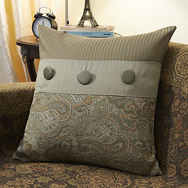 Jacquard Decorative Pillows : Traditional Cotton Jacquard Decorative Pillow Cover 364770 2016 ? $11.69