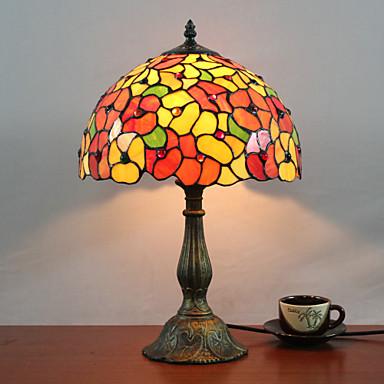 tiffany lampada da tavolo progettata con 1 luce nel modello fiore del 302002 ...