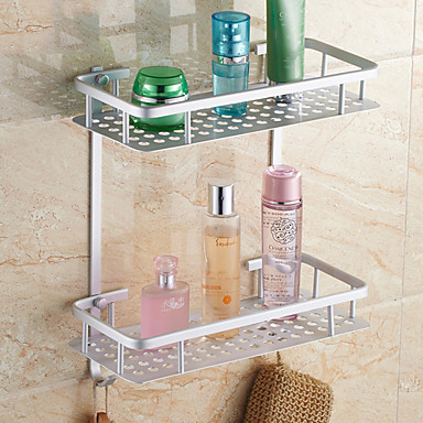 Buy Bathroom Shelf Aluminum Wall Mounted 315*375cm (11.5*14.75 inch) Contemporary