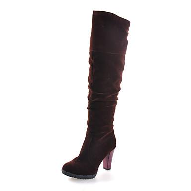 suede chunky heel knee high boots 819395 2016 19 99