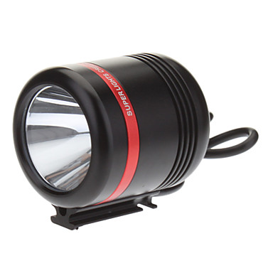 Buy KISR 5-Mode Cree XP-E R3 LED Bicycle Flashlight/Headlamp (350LM, USB Charger, Black+Red)