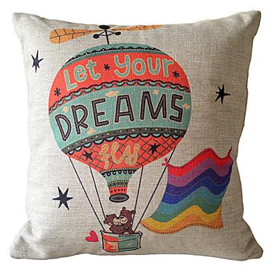 Bear Throw Pillow Covers : Ballon Bear Decorative Pillow Cover 947306 2016 ? USD10.79