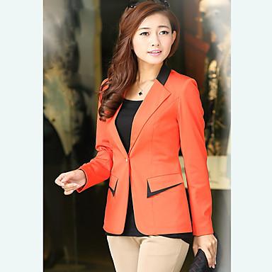 Buy Women's Classical Slim V Neck Coat
