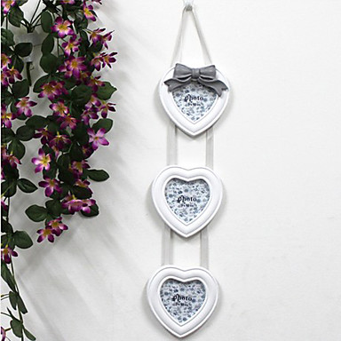 """24.75""""H Heart Shape Picture Frame"""