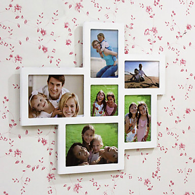 """17.25""""H Country Style Photo Wall Frame"""