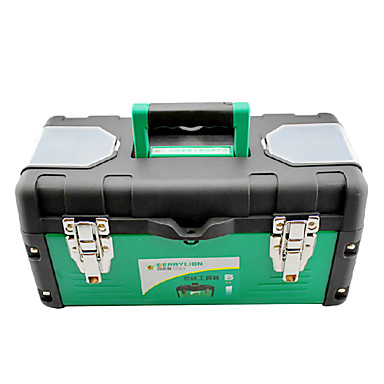 (36*16*18) Iron And Plastic Green Reinforced Handle Tool Boxes
