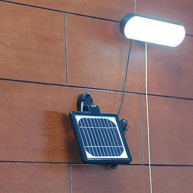 Modernos recargables led de pared de luz solar jard n for Iluminacion led solar para jardin