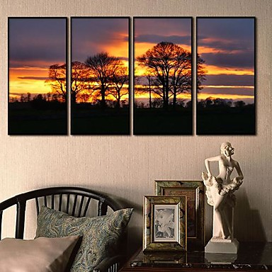 Expectation Framed Canvas Print Set of 4