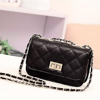 Women's Fashion Leather Cute Mini Cross Body Chain Shoulder Bag Handbag Purse