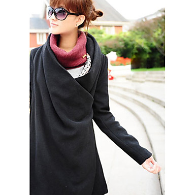 Women's Two Way Asym Hem Coat