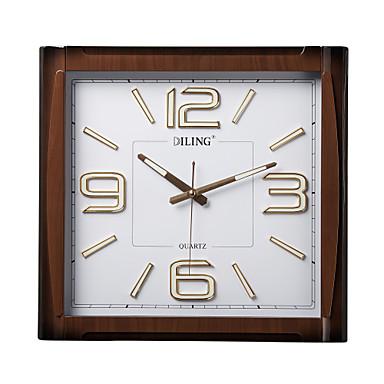 13 6 reloj de pared moderno multifuncional negro mudo - Reloj de pared moderno ...