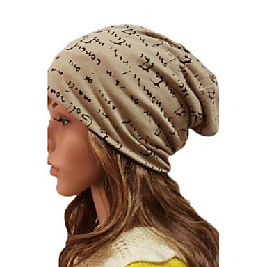 Women Cotton Beanie/Slouchy , Casual Winter
