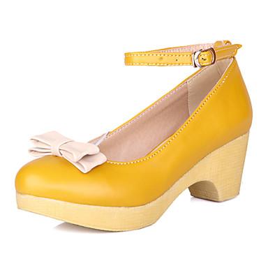 Zapatos de mujer tac n robusto tacones tacones - Zapatos de trabajo ...