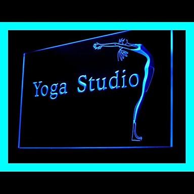 fitness yoga studio werbung led licht zeichen 1644006 2016. Black Bedroom Furniture Sets. Home Design Ideas