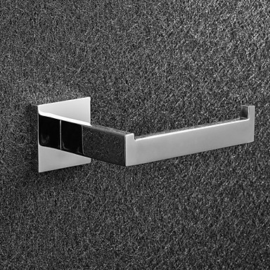 Buy Toilet Paper Holder Stainless Steel Wall Mounted 16.05*7.5*5.5cm(6.32*2.95*2.17inch) Contemporary