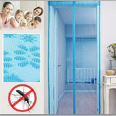 Buy Utility Type Anti-mosquito Magnetic Stripe Soft Yarn Door Curtain(82.625''L*39.375''W)