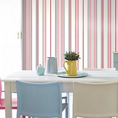 Pared de papel para paredes papel raya del estilo moderno - Papel de pared moderno ...