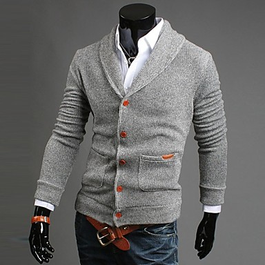 Men's Fashion Slim V-neck Cardigan