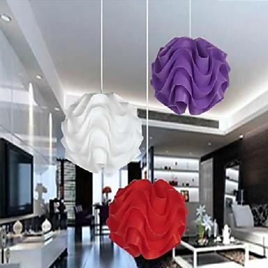 rot wei lila kombination pendelleuchten in kugel wellig. Black Bedroom Furniture Sets. Home Design Ideas