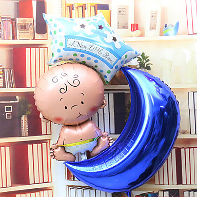 baby moon star aluminium membrane baby shower balloon set 1919619 2016
