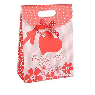 Coway 26.5*19*9 Red Wedding Candy Paper Bag Cover Gift Bags 1907621 ...