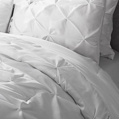 ensembles housse de couette polyester violet blanc de. Black Bedroom Furniture Sets. Home Design Ideas