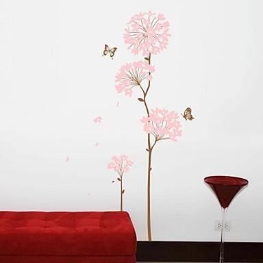 Wall stickers vægoverføringsbilleder, stue træ blomst hjem ...