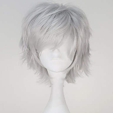 Cosplay Wigs Tokyo Ghoul Ken Kaneki Gray Short / Straight ...