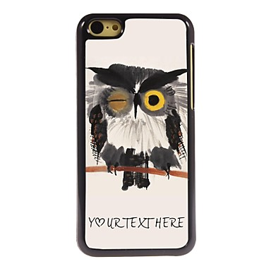 Buy Personalized Phone Case - Blink Owl Design Metal iPhone 5C