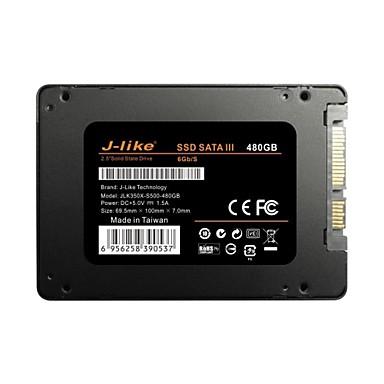 """J-Like® 2.5""""SSD S500 480GB SATA3 SSD Solid State Drive 6Gb/s"""