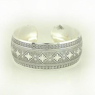 1PCS Fashion Carved Silver Bracelet N0.6