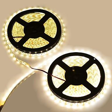 -5050 SMD LED 3300k 8400-lumen varmt hvitt lys dekorasjon stripe lys ...