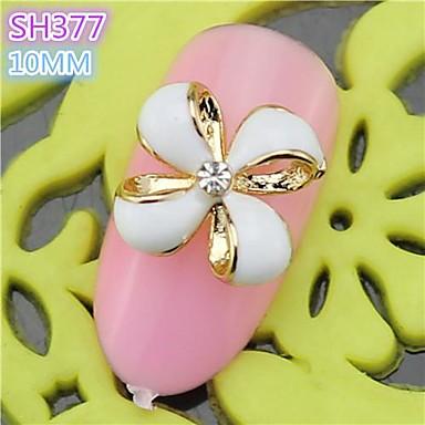 10st sh377 speciale ontwerp bloem luxe strass 3d legering nail art diy nagel schoonheid nagel - Decoratie murale ontwerp salon ...