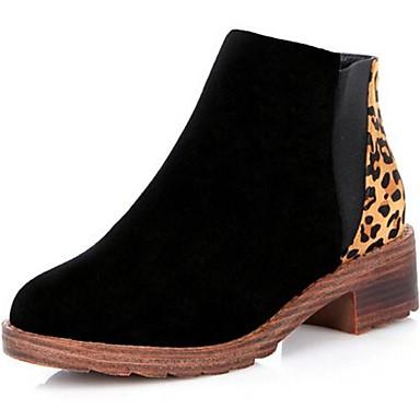 Bottes noir marron chaussons bottines bout rond for Chausson de piscine pour verrue